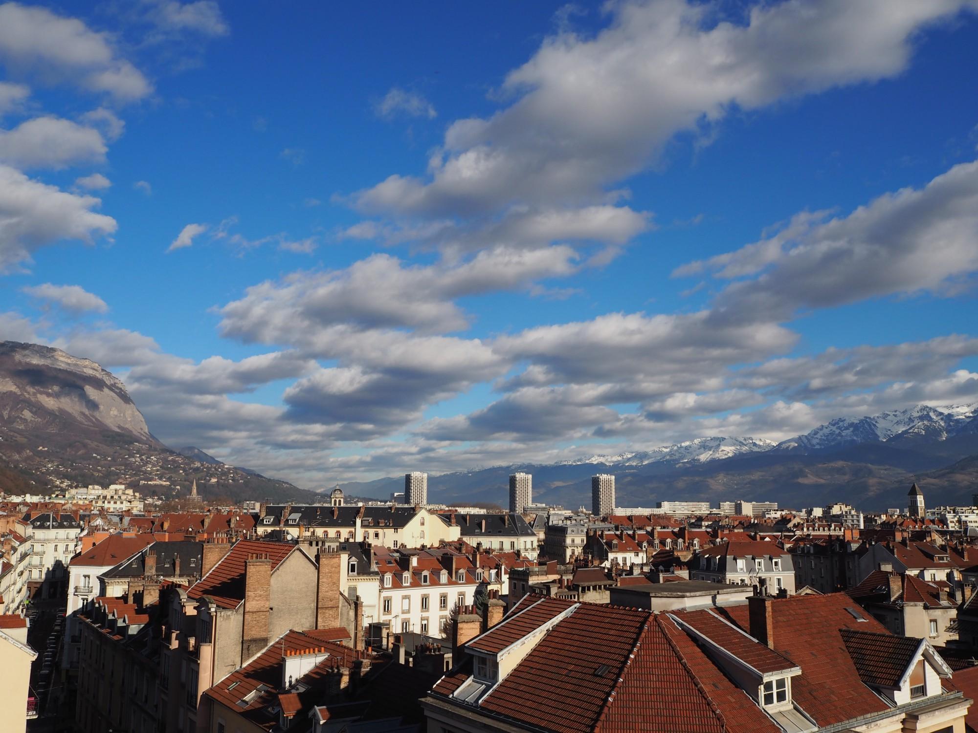 Les toîts de Grenoble